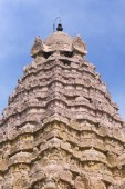 The Gopuram on top of the Karpa Graham. — Стоковое фото