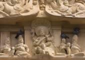 Duvor på Lord Shiva som lärare staty. — Stockfoto