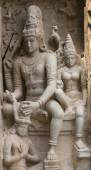 Chandesanugraha murti at Gangaikunda Temple. — Stok fotoğraf