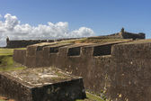 The eastern ramparts of Castillo San Christobal. — Stock Photo