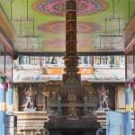 Open-sided hall to inner sanctum at Mahalingeswarar Temple. — Stock Photo #71128191