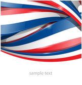 Frankrijk vlag achtergrond — Stockvector