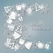 Decorative Christmas design — Vector de stock