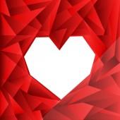 сердечный фон — Cтоковый вектор