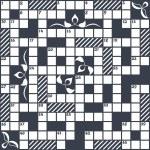 Crossword grid — Stock Vector #63220565