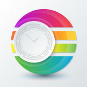 Zaman kavramı görüntü — Stok Vektör