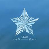 Multicolor star concept — Stock Vector
