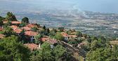 View from Old Platamonas, Platamon Greece — Stock Photo