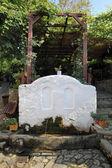 Drinking fountain Old Platamonas Platamon Greece — Stock Photo