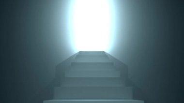 Schody do nieba — Wideo stockowe