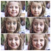 Expressions of a girl — Stockfoto