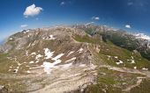 The view from the Edelweisspitze — Stock Photo