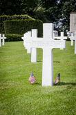 Luxembourg American Cemetery War Memorial — Stock Photo