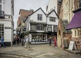 Catherine Street, Exeter, Devon, UK — Foto de Stock