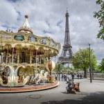 Parisian Carousel — Stock Photo #58131189