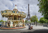 Parisian Carousel — Stock Photo