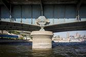 Bridge Support Detail — Fotografia Stock