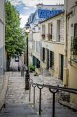 Steep Steps in Paris — Stock Photo