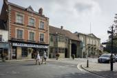 Glastonbury Town Centre — Stock Photo