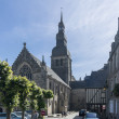 Постер, плакат: Church in the City of Dinan Brittany France