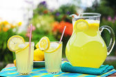 Fresh Squeezed Lemonade — Stock Photo