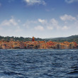 Saint Tropez, Mediterranean , south of France, view from the sea — Stock Photo #59157339