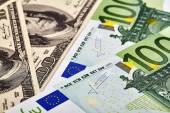 USD EUR banknotes — Stock Photo