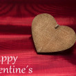 Valentines day background with heart — Stock Photo #60076679