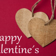 Valentines day background with heart — Stock Photo #60076693