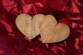 День Святого Валентина фон с сердцем — Стоковое фото