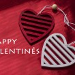 Valentine day background with heart — Stock Photo #61777385
