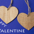 Valentine day background with heart — Stock Photo #61778595