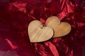 Valentinstag hintergrund mit herz — Stockfoto