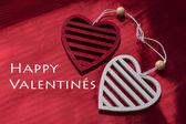 Valentin Tag Hintergrund mit Herz — Stockfoto