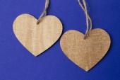 Valentine dag achtergrond met hart — Stockfoto
