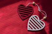Valentine day background with heart — Stock Photo