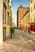Old Quebec street — Foto Stock