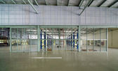 Interior of a new repair garage, Elevation  — Stock Photo