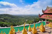 Mandalay Hill is a major pilgrimage site in Myanmar — Stock Photo