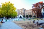 Tokyo, Japan - November 22, 2013: Students at University of Tokyo — ストック写真