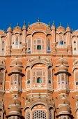 Hawa Mahal palace in Jaipur, Rajasthan — Stock Photo
