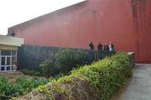 Jaipur, India - January 31, 2014: Tourist visit Jawahar Kala Kendra — Stock Photo