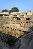 Chand Baori Stepwell in the village of Abhaneri — Stock Photo