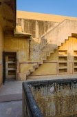 Stair at Nahargarh Fort in Jaipur — Stock Photo