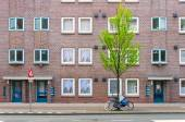 Apartment Building in Amsterdam — Stock Photo