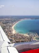 Aerial view of Majorca beach — Stock Photo