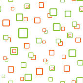 Square seamless texture green orange — Vettoriale Stock