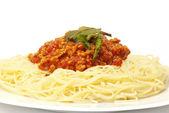 Spaghetti bolognese — Stockfoto