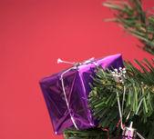 Christmas tree ornaments — Stock Photo