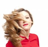 Beautiful  Woman Shaking Her Hair  — Stockfoto